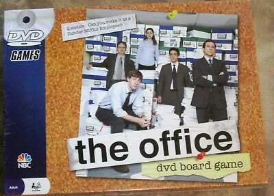The Office Trivia Board Game 100% Complete Barely Used!