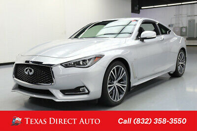 2018 Infiniti Q60 3.0t LUXE Texas Direct Auto 2018 3.0t LUXE Used Turbo 3L V6 24V Automatic AWD Coupe Bose