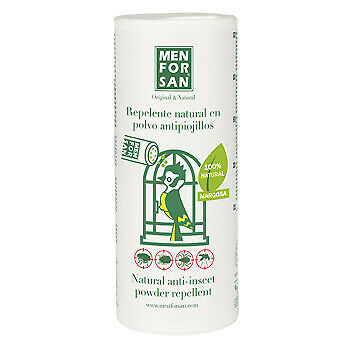 Men For San Repelente Natural Anti-Insectos 250gr, para pájaros