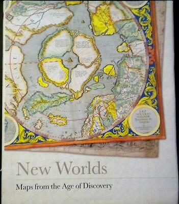 New Worlds Maps European Age Discovery 1475-1899 200+ Journey to Past HC DJ kv