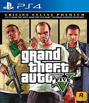 Grand Theft Auto V Premium Online Edition PS4 New PlayStation 4,PlayStation 4