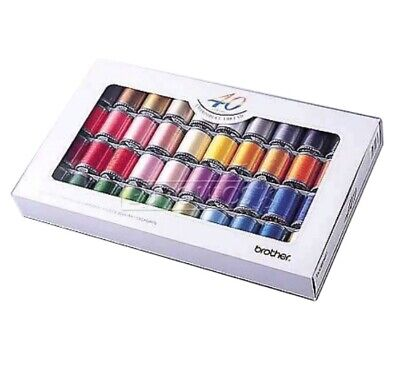 Embroidery Thread Set 40 Colours - ETS40