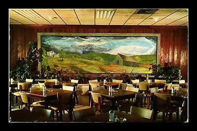 Dr Jim Stamps Us East Room Mooman Cafeteria Quincy Illinois Chrome Postcard