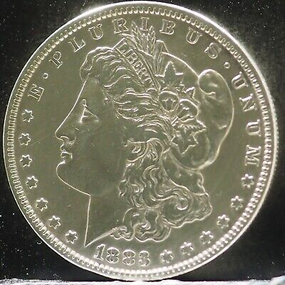 1883 Mirror Like Morgan Silver Dollar 90% Silver $1 Coin #A81