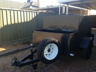 Trailer ... Enclosed With Rego ... Can Deliver