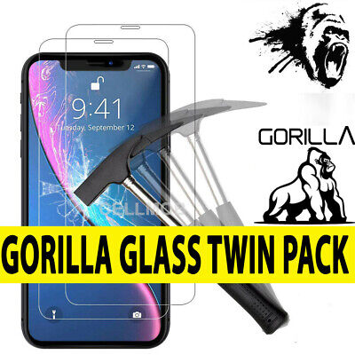 Screen Protector for New iPhone 11,11 Pro,11 Pro Max Gorilla Tempered Glass