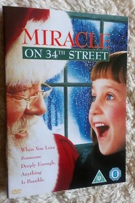 Miracle On 34th Street (DVD, 1994) Christmas Movie New Remake Childrens Classic