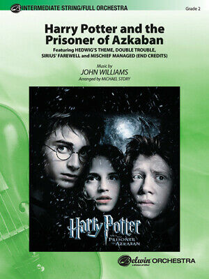 Harry Potter and the Prisoner of Azkaban Full Orchestra Conductor Score & Parts