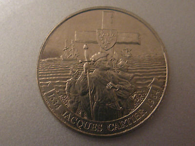 1984 Canada Commemorative Dollar Coin Jacques Cartier First French Explorer.