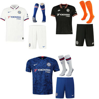 19/20 chelsea Soccer Football Short Sleeve Kids Boys&Adults Jersey Kits