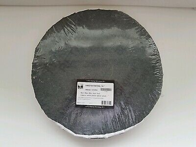 """HTC Twister Diamond Floor Cleaning Pads 14"""" pack of 2 grey pads brand new!"""