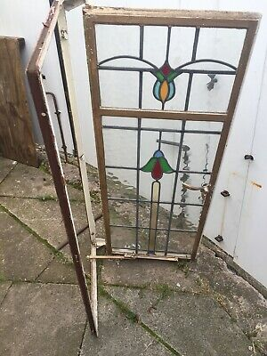 Stained Glass Window Antique Vintage