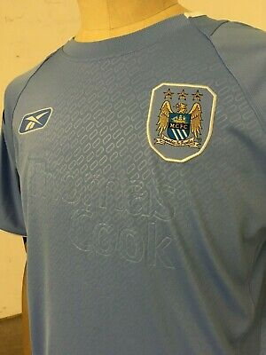 Manchester City 2004-06 Home Retro Football Soccer Shirt Jersey Vintage Classic