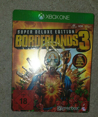 Borderlands 3 Super Deluxe Edition Xbox One NEW&SEALED