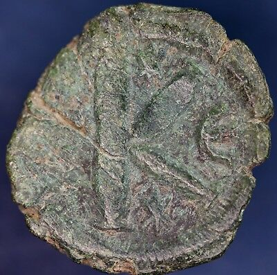 "Large Byzantine bronze coin, ""K"" type 23 mm **[12545]"