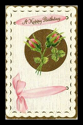 Dr Jim Stamps Us Happy Birthday Embossed Topical Greetings Postcard