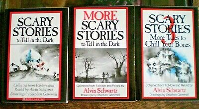 More Scary Stories To Tell In The Dark Complete 1-3 Alvin Schwartz Stephen Gamme