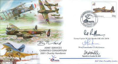 JSCC RAF charity handover cover signed producers RARE