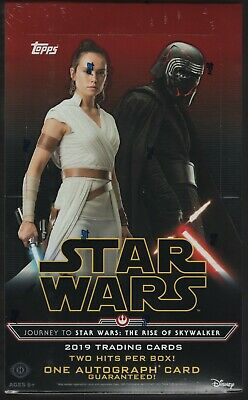 2019 Topps Star Wars Journey To The Rise of Skywalker (10/4) Sealed Hobby Box