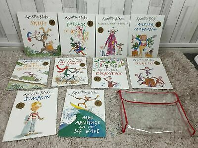 Quentin Blake Classic Childrens Books x 10 Bundle - Great Condition