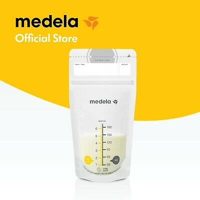 Medela Breast Milk Storage Bags 50pk, easily freeze, store, defrost breastmilk