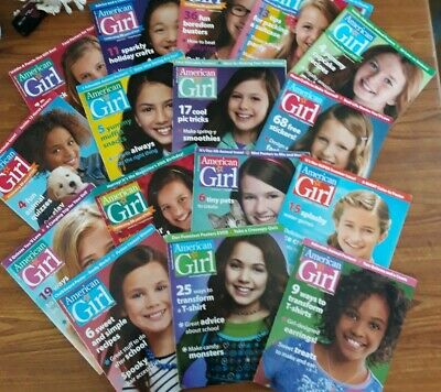Lot (16) American Girl Doll Magazines mixed lot of 2011 to  2014