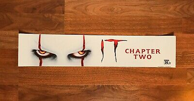 """It Chapter Two (2019) Large Movie Theater Mylar 5"""" X 25"""""""