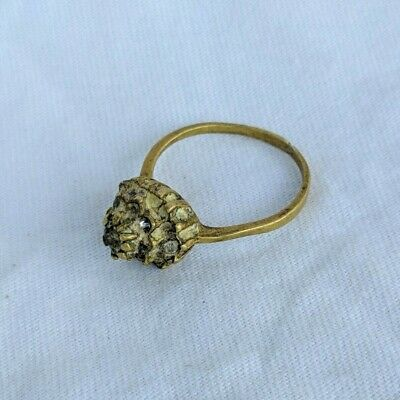Ancient Antique Roman Ring Very Old Lieognary Stuning Stone Extremely Rare