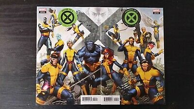 2019 Marvel Comics House Of X #4 Powers Of X #4 Connecting Variant Covers Nm