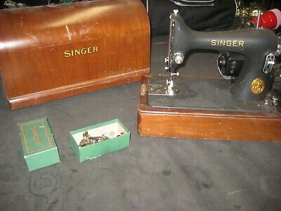 Vintage Singer Portable Sewing Machine  AF291303 Works Well