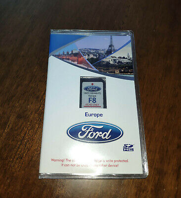 Ford F8 2019/2020 Sync2 Sd Card Navigation Map All Europe & Uk+Tur Latest Update