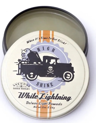 Lucky 13 White Lightening  - HAIR STYLING POMADE 56g