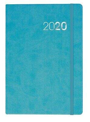 Legacy - A4 - Day to a Page - Teal - Diary 2020