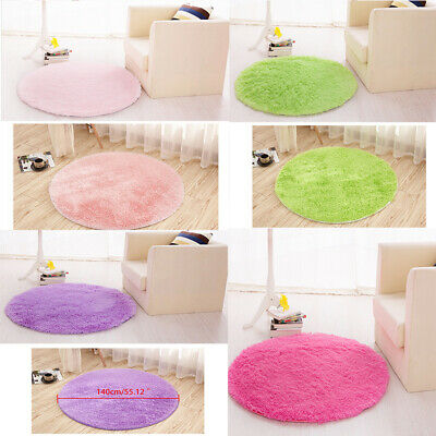 Circle Circular Traditional Rugs Modern Soft Affordable Round Rugs 1.4M yvACGj