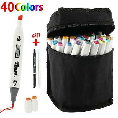 40 Colors New Sketch Marker Set Touch Twin Tip Copic Artist Paint Drawing Pens