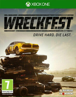 Wreckfest (Xbox One)  BRAND NEW AND SEALED - IN STOCK - QUICK DISPATCH