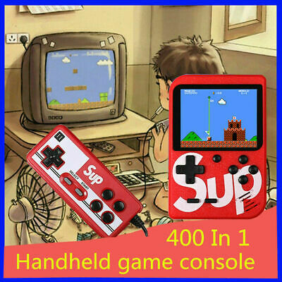 SUP Gam 400 in 1 Retro Game 3 Inch screen Handheld Game Box Gaming Console Gift