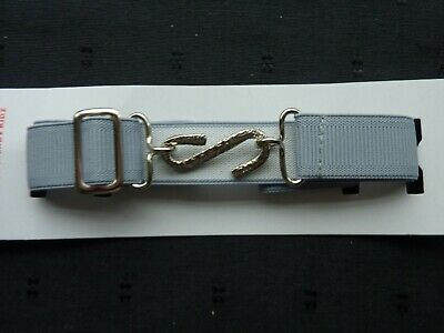 Snake Belts/Boys/Girls/Childrens....grey ..Stretches And Adjusts To Fit..uk Made