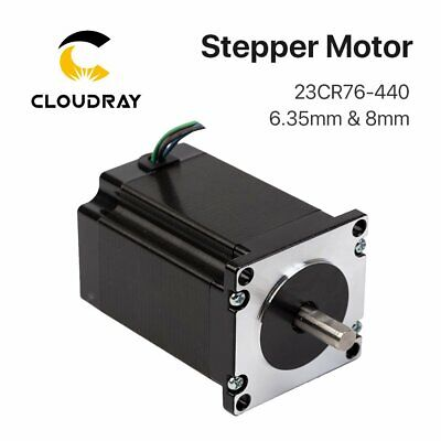 2 Phase CO2 Laser Stepper Motor NEMA 23 CR Series 4.4A 23CR76-440