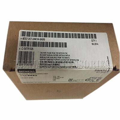 1PC NEW IN BOX Siemens 6ES7317-2AK14-0AB0 Central processing unit Free shipping