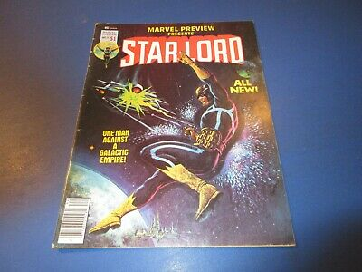 Marvel Preview #11 Magazine Starlord Bronze age Fine Guardians of the Galaxy