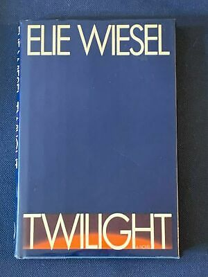 """Twilight"" by Elie Wiesel Holocaust survivor Signed/Autographed 1st ed."