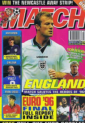 ENGLAND / ANDERTON / CHELSEA / RYAN GIGGS	Match	July	6	1996