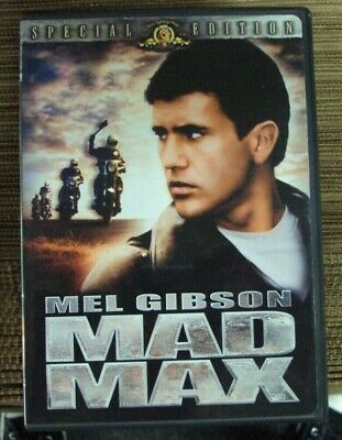 MAD MAX DVD widescreen Mel Gibson early-80's post-apocalypse George Miller