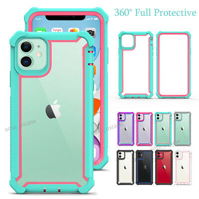 For iPhone 11 / 11 Pro / Max Shockproof Heavy Duty Protective Bumper Case Cover