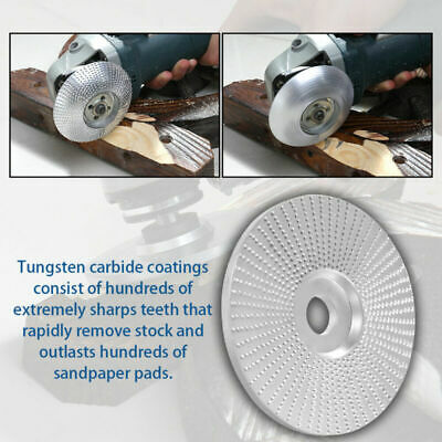Wood Angle Grinding Wheel Polishing Sanding Carving Rotary Abrasive Disc Durable
