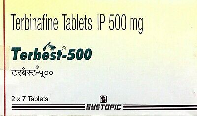 Antifungal Terbinafine 500mg 28 tablet for Human Fungal Infection