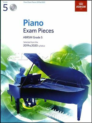 ABRSM Piano Exam Pieces 2019 2020 Syllabus Grade 5 Sheet Music Book and CD