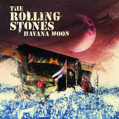The Rolling Stones CD NEW Havana Moon 2 CD + 1 DVD 5051300206529 USA SELLER!