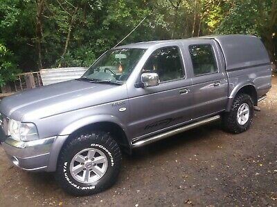 Ford Ranger Pickup, 2004, Low Mileage, Good condition, Mud tyres